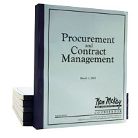 Procurement and Contract Management Workbook