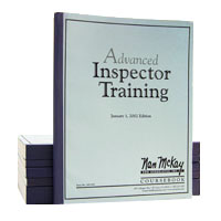 Advanced Inspector Course Book